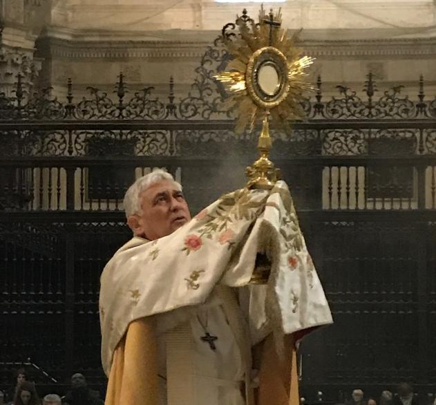 Adoración Al Santísimo Catedral de Cádiz